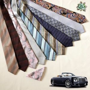10 Beautiful Men's Ties DKNY, Kenneth Cole &More!